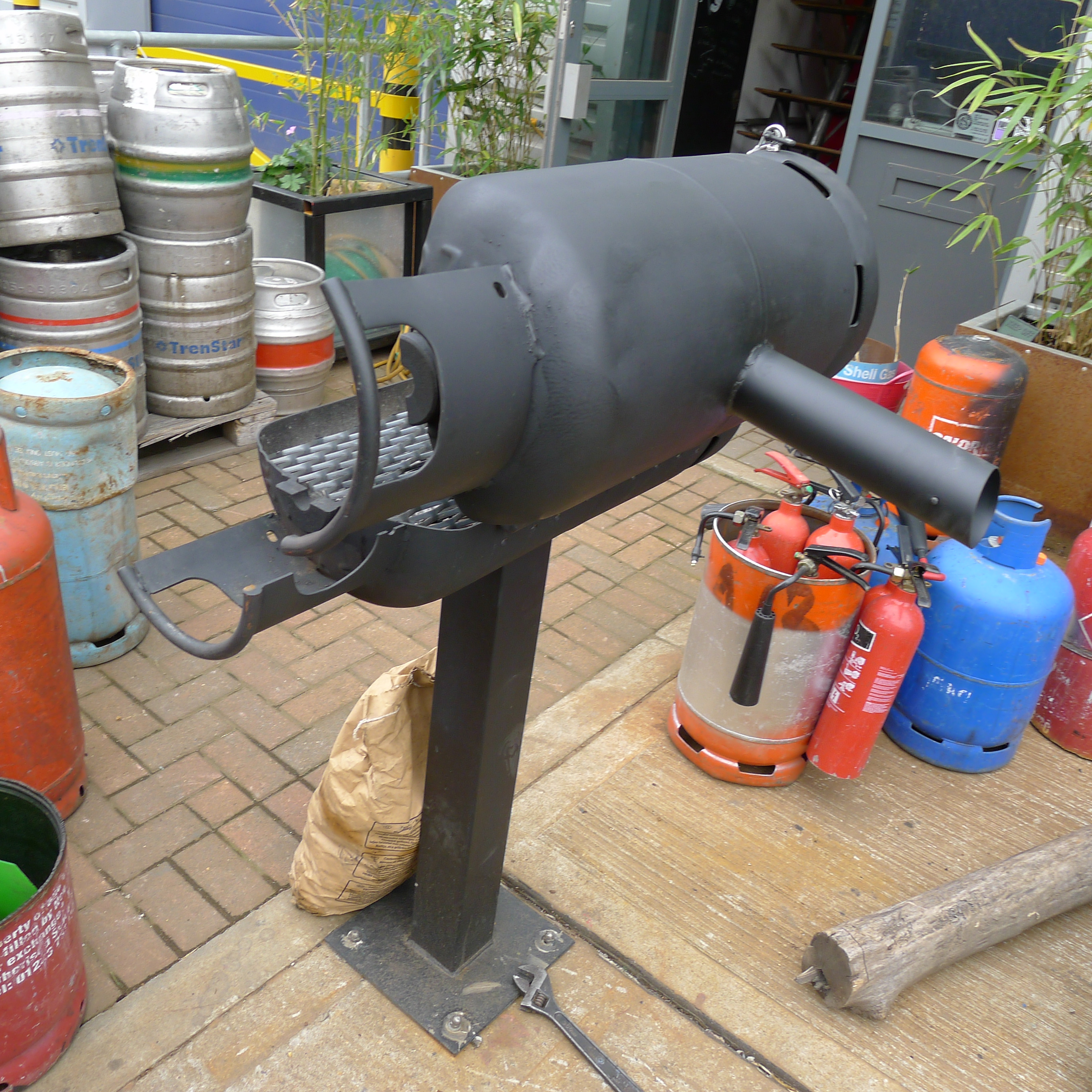 Gas Bottle Bbq Furniture And Metalwork Built To Order
