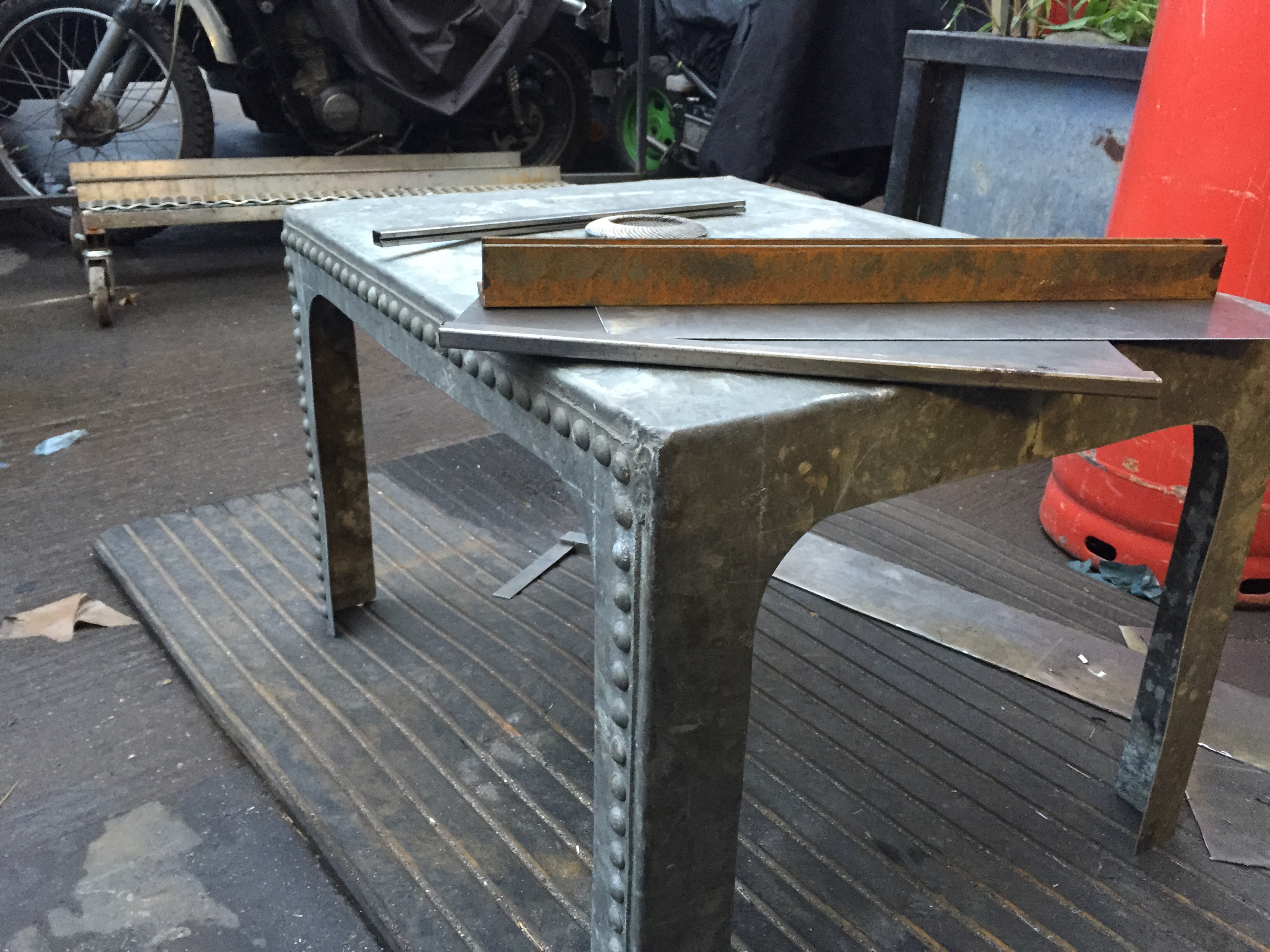 Water Tank Coffee Table Furniture And Metalwork Built To
